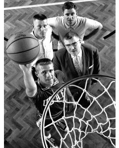 Wiesbaden, Germany: Tommy Heinsohn