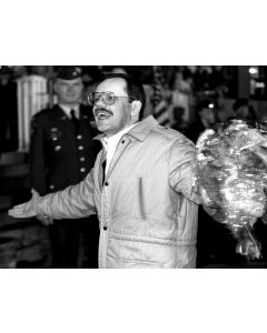 Wiesbaden, Germany, December, 1991: Former Lebanon hostage Terry Anderson