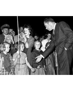 Morocco, March, 1957: Vice President Richard Nixon