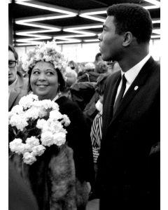 Frankfurt, Germany: Muhammad Ali's mother, Mrs. Odessa Lee Grady Clay