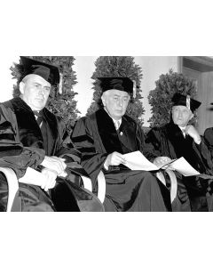 Bonn, Germany, May, 1951: Receiving honorary degrees