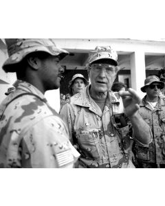 Beli Dogle, Somalia, January 1, 1993 - President George H.W. Bush