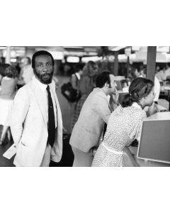 Frankfurt, Germany, September, 1980: Comedian Dick Gregory