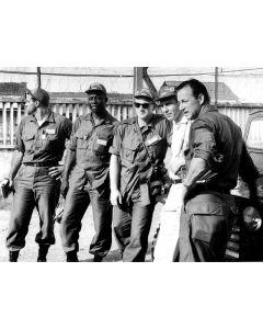 Baseball stars visit the troops in Vietnam,1966