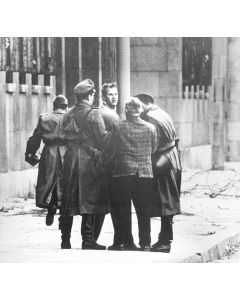 East German trying to escape, 1961