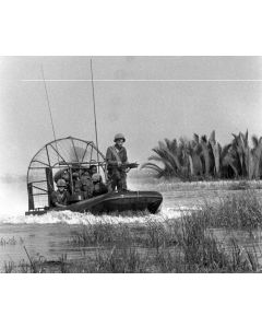 Airboat near Nha Be