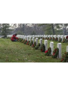 Wreaths Across America at Arlington National Cemetery