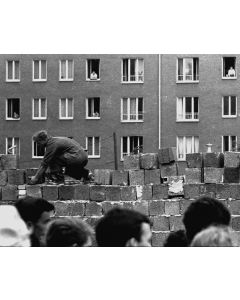 East Berliners watch as their freedom is eroded, 1961