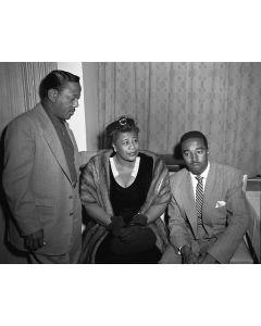 Roy Eldridge, Ella Fitzgerald, and Ray Brown, Tokyo, 1953